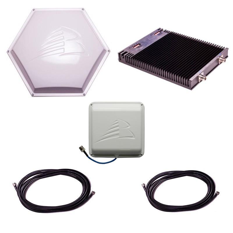 Комплект Baltic Signal для усиления GSM 900 и 1800 (до 400 м2) Комплект Baltic Signal для усиления GSM 900 и 1800 (до 400 м2)