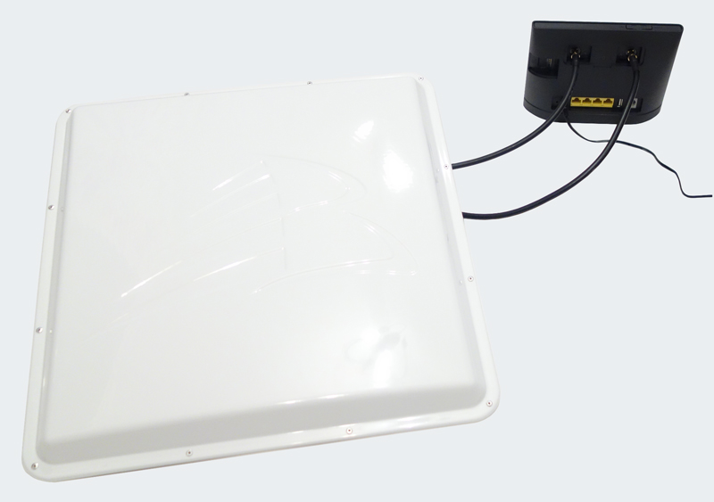 Роутер Huawei B315 + внешняя 3G/4G-антенна MIMO с усилением 17 дБи