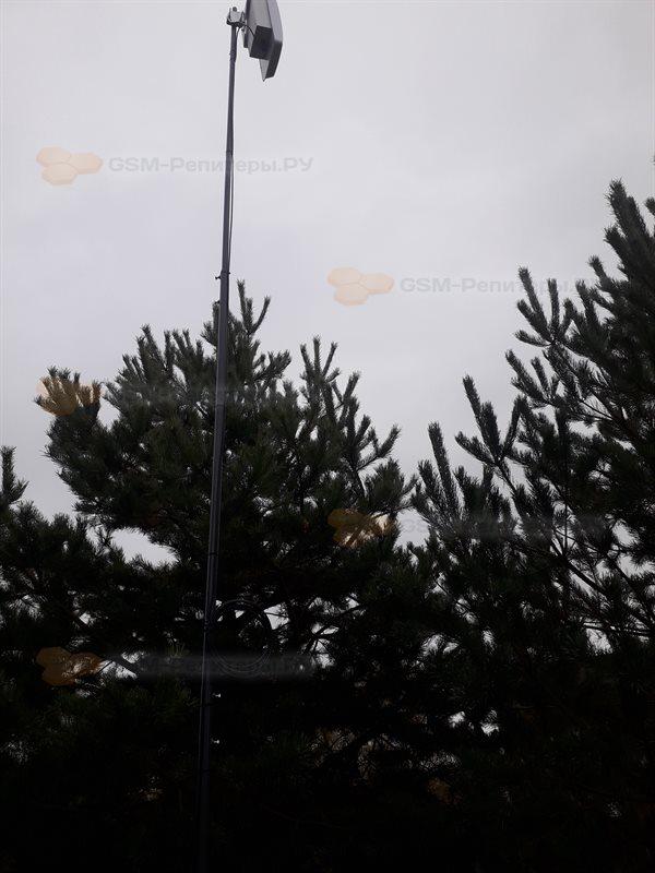 Активная антенна на мачте в Боково