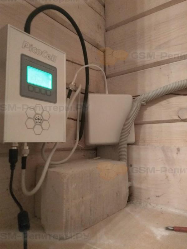 GSM-усилитель в коттедж в Комарово