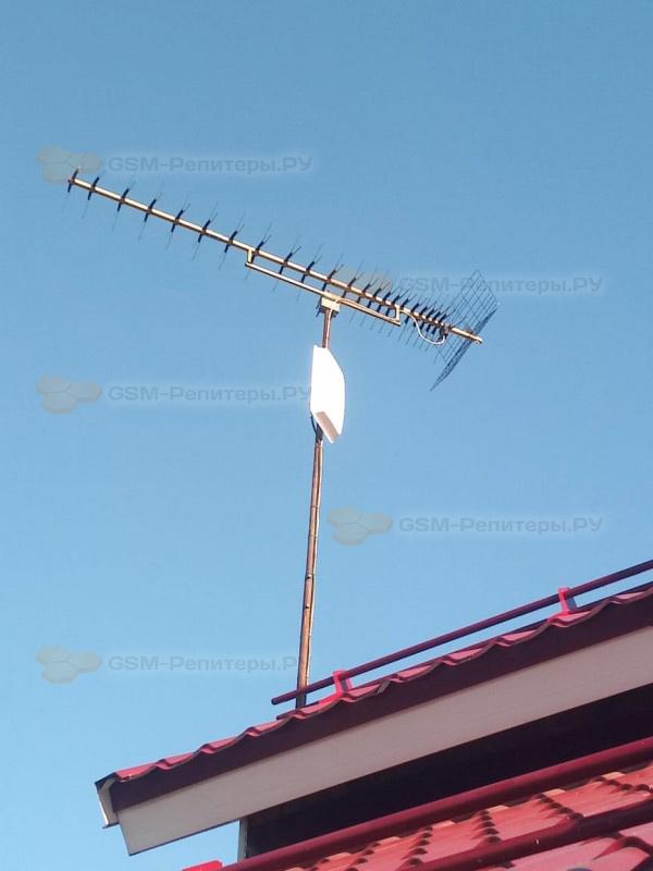 Интернет 4G для частного дома в д. Клёновка