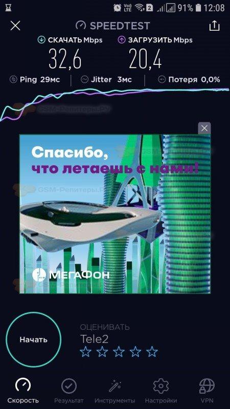 Интернет 4G для загородного дома в д.Шестово