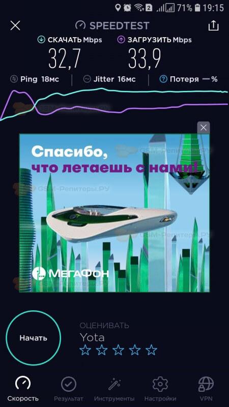 Интернет YOTA 4G для авто сервиса в Москве
