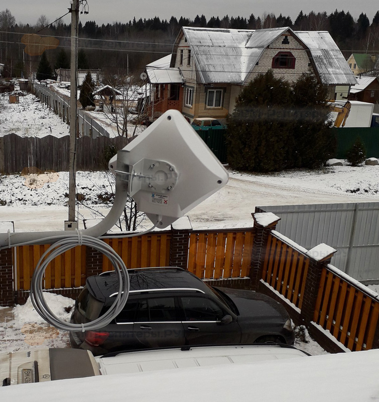 Подключение интернета 4G в д. Решоткино