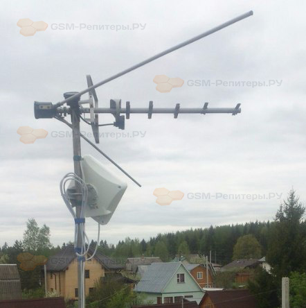 Подключение интернета 4G в СНТ Лесное