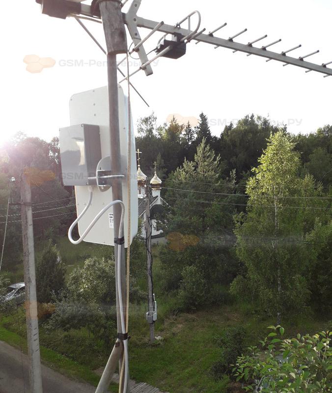 Установка интернет-антенны в Плёсково