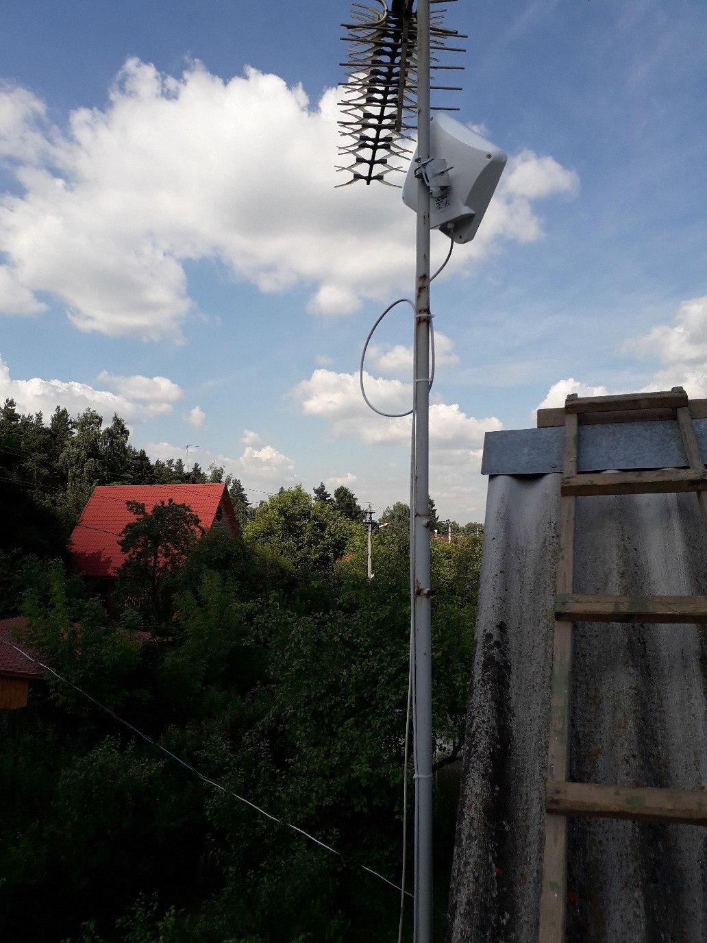 Подключение интернета 4G в СТ 40 лет Октября