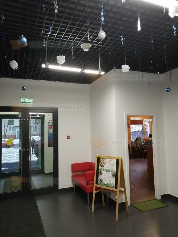 Сотовая связь и интернет в офисе (2 этажа)