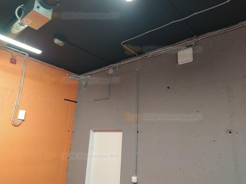 Усиление 3G/4G для тренажёрного зала