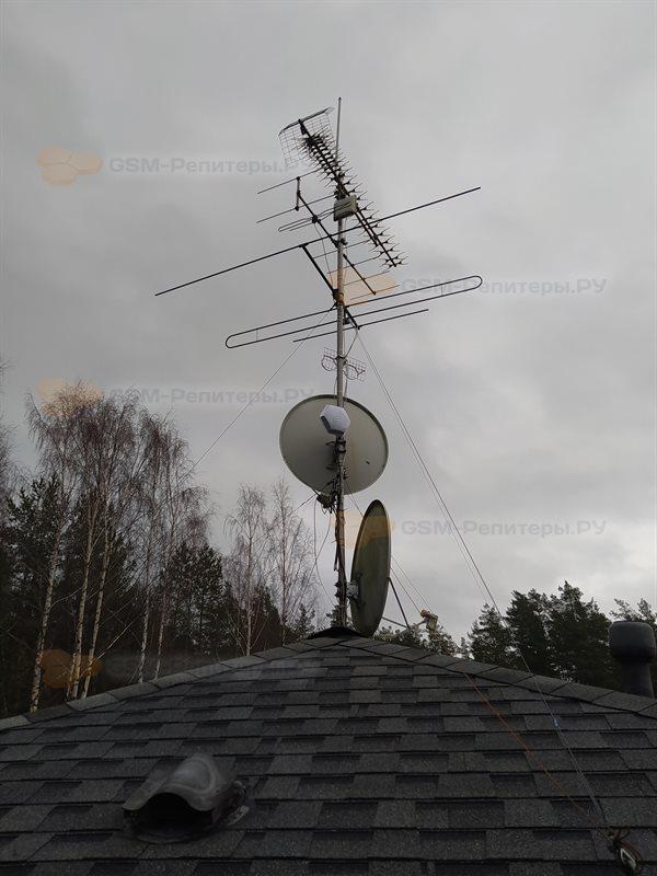 Усиление 3G Band 8 в Полянах