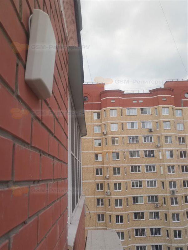 Усиление 3G связи в квартире в г. Московский