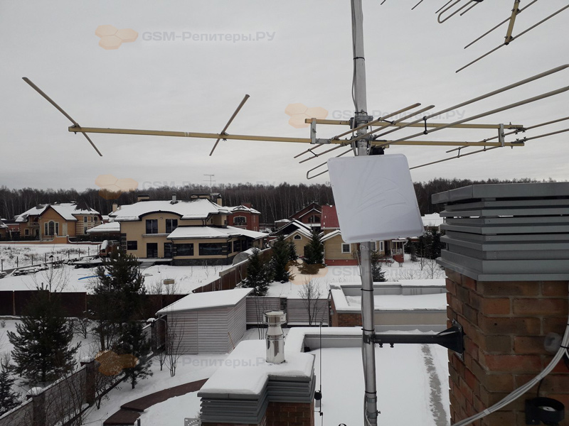 Усиление 4g интернета в д. Чулпаново