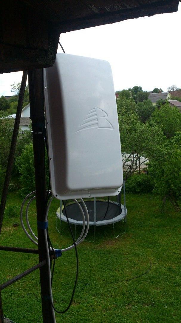 Усиление 4g интернета в деревне Ефимоново