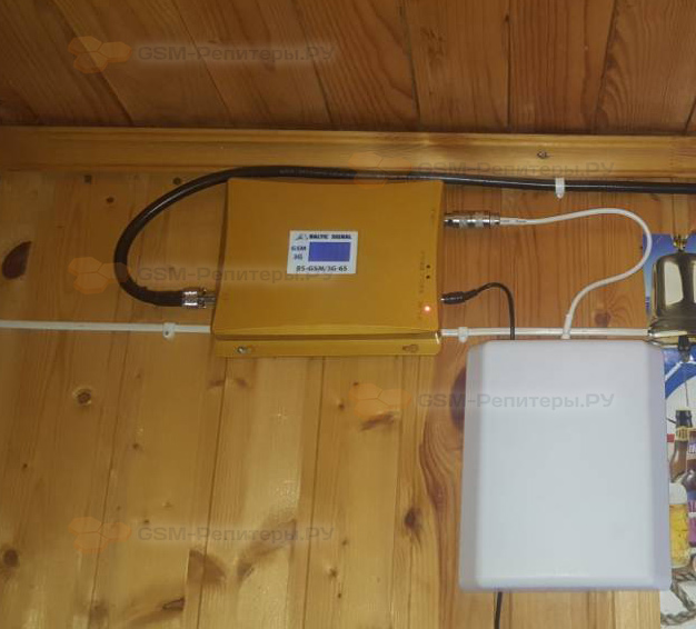 Усиление GSM/3G в СТ Рузские Дали