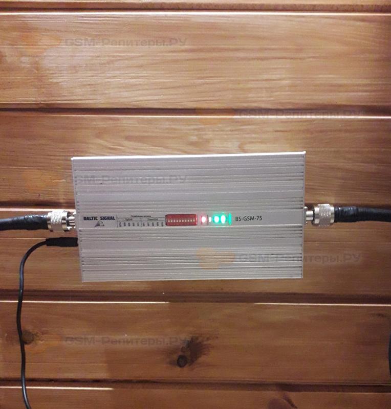 Усиление GSM/4G в СНТ- Иволга