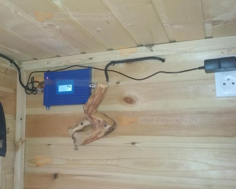 Усиление GSM для вагончика и участка под Лахденпохьей