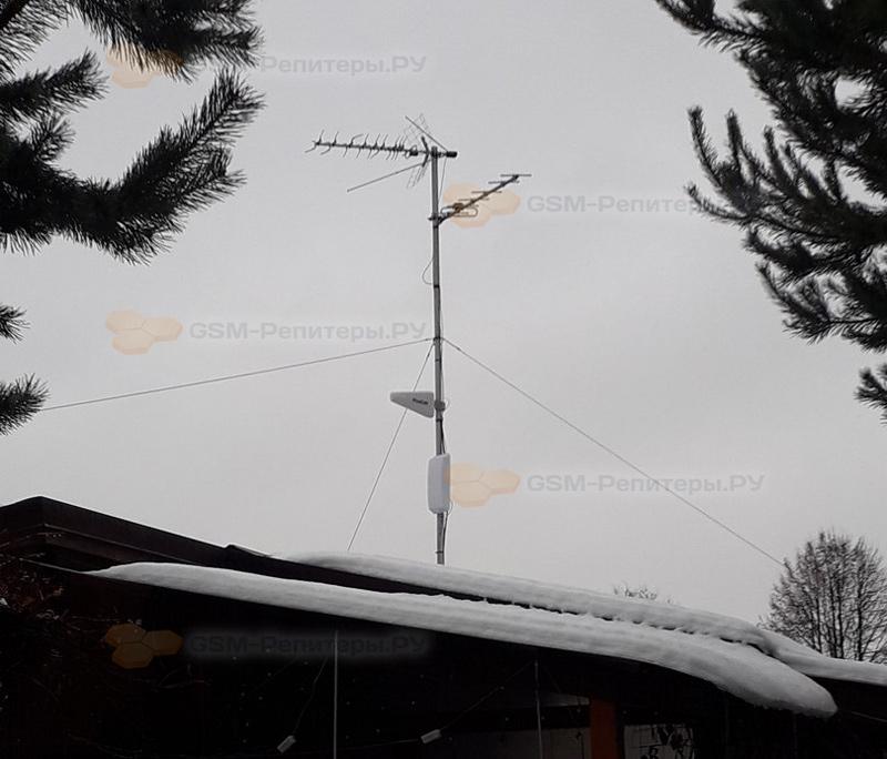 Усиление сотовой связи GSM в СТ Спектр