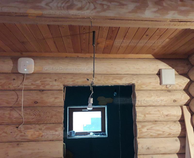 Усиление GSM и 4G интернета в д. Карцево