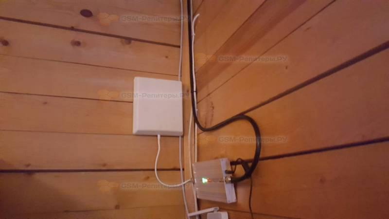 Усиление GSM и 4g интернета в с. Усово