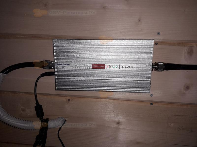 Усиление GSM и 4G в коттеджном посёлке