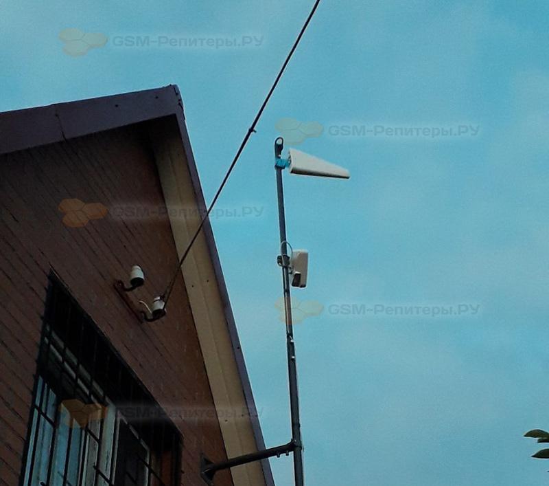Усиление GSM и интернета 4G в СТ Опушка