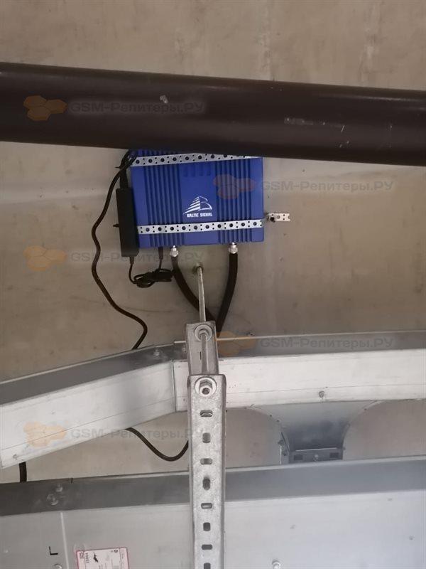 Усиление GSM-сигнала в паркинге СПб