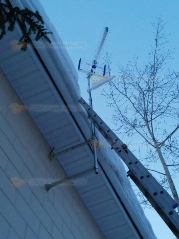 Усиление GSM связи в посёлке Сосновый Бор