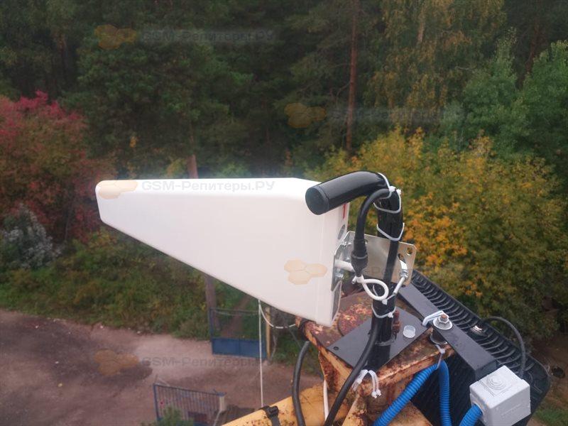 Усиление GSM связи в вагончике охранника