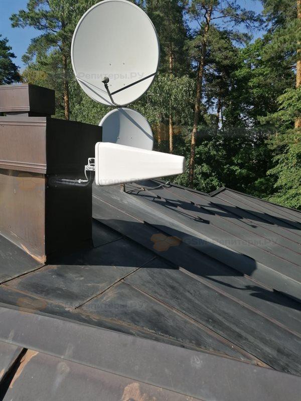 Усиление сотовой связи 3G на Парковой аллее