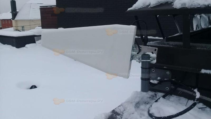 Усиление сотовой связи GSM на хуторе Брехово
