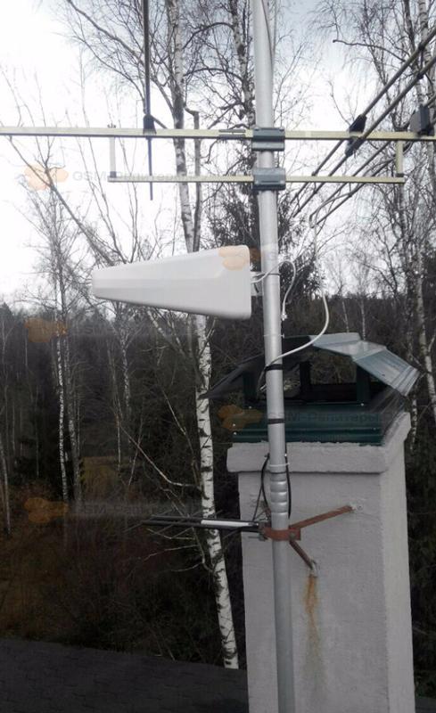Усиление сотовой связи GSM в д. Петрищево