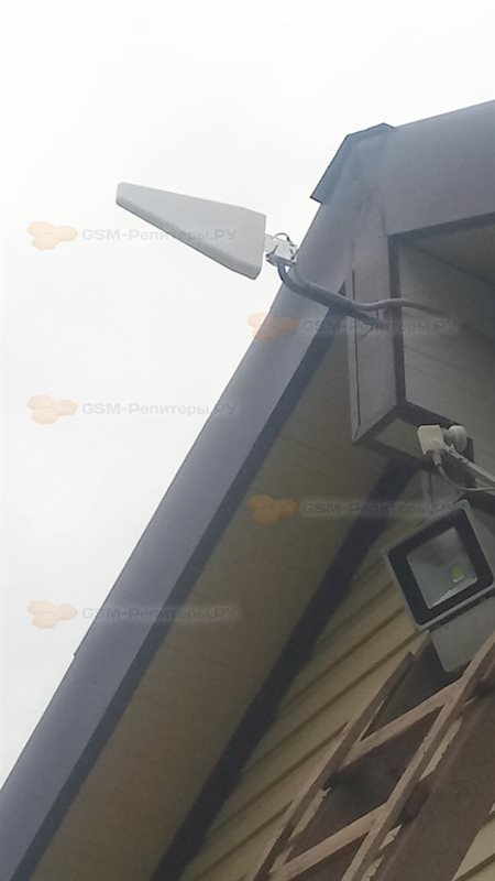 Усиление сотовой связи GSM в деревне Удино