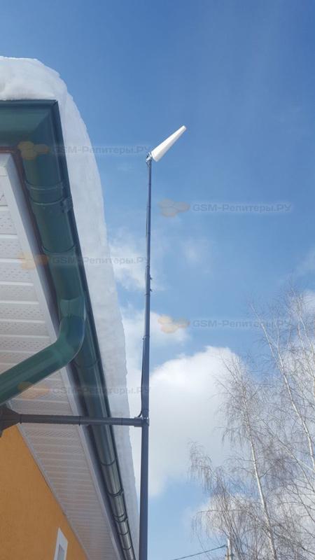 Усиление сотовой связи в д. Малое Саврасово