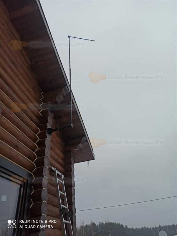 Усиление сотовой связи в деревне Щекавцево