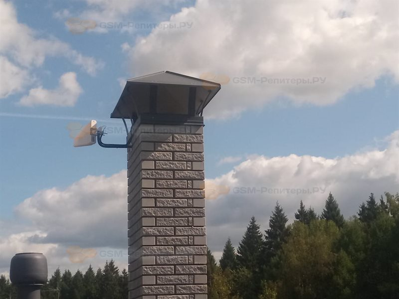 Усиление сотовой связи в КП Лесной Пейзаж