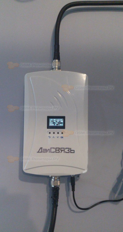 Усиление GSM+3G+4G в СНТ Лидия