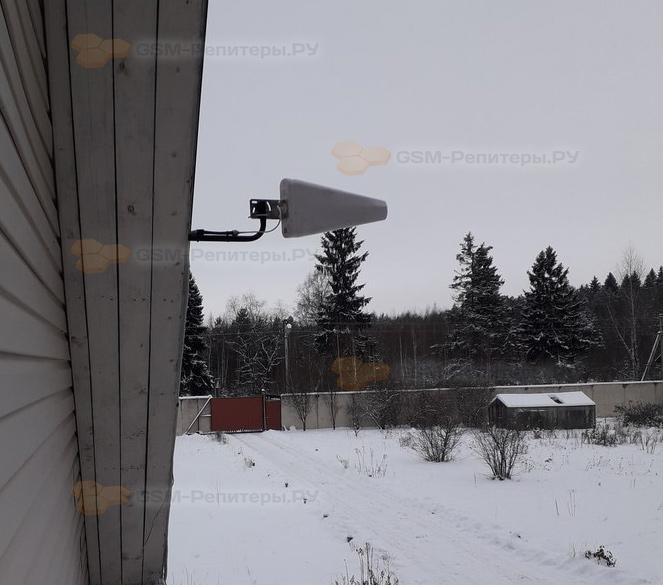 Усиление связи GSM и 4G интернета в деревне