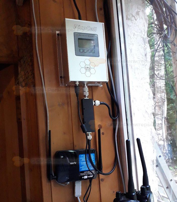 Усиление связи GSM и интернета 4G на Яузе