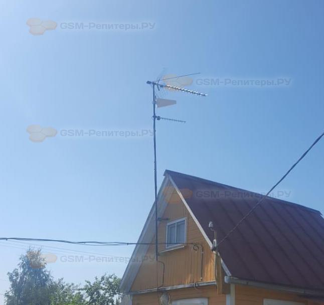 Усиление связи GSM в СНТ Хуторок