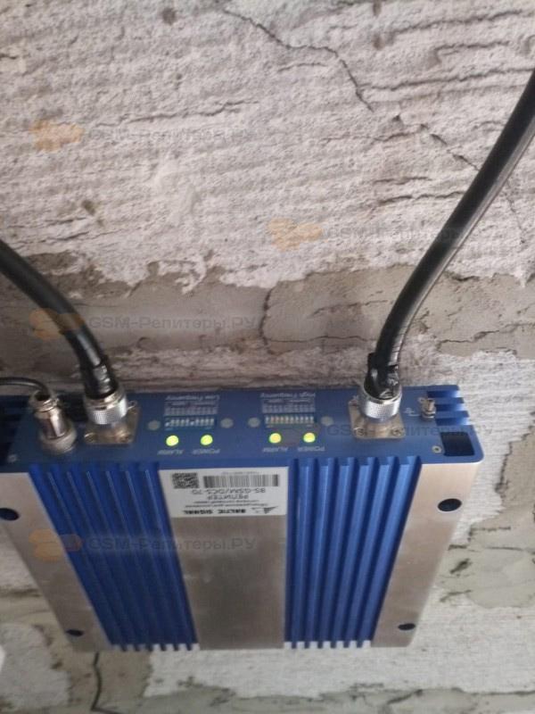 Усиление связи и интернета в д. Леньково