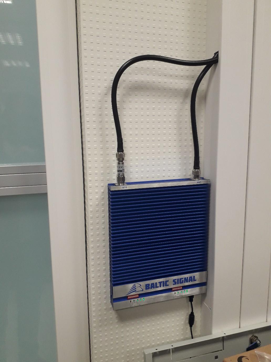 Усиление связи и интернета в офисе (Мытищи)