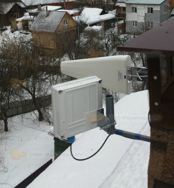 Усиление связи GSM и интернета 4G в Пушкино