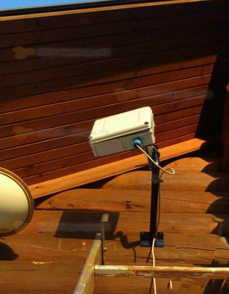 Установка антенны 4G в СТ Нарские Пруды